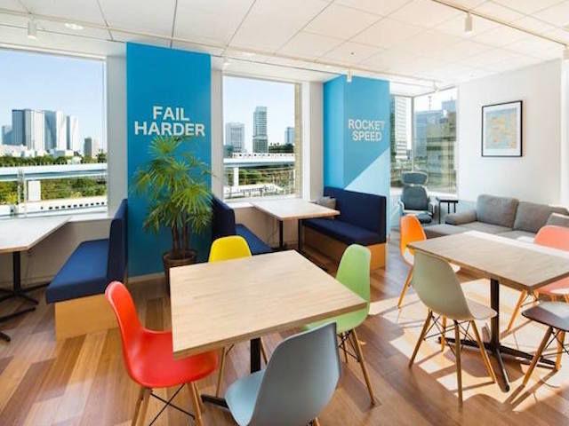 快適なオフィス環境が整っています。