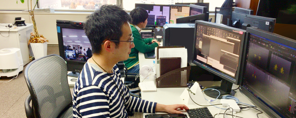 ゲームCGデザイナー(背景/マップ制作担当) | エヌディーキューブ株式会社