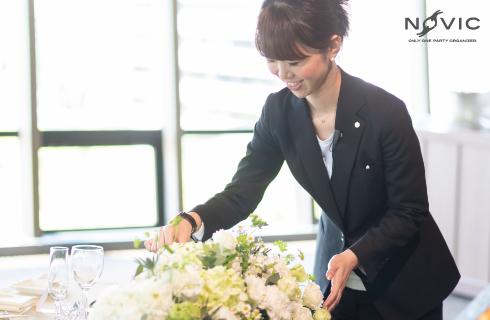 大手婚礼施設で9年間、プロデュース会社で1年間ウェディングプランナーの経験を経てフリープランナーへ。