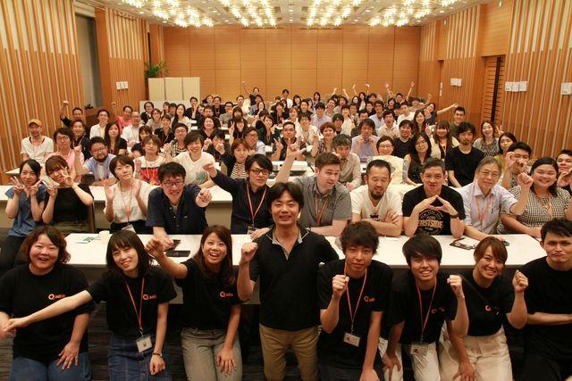東京、仙台、福岡、沖縄、フィリピンと全拠点から社員が集まるイベントを行いました!