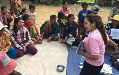 低所得者向けのマイクロファイナンス事業を農村等で実施