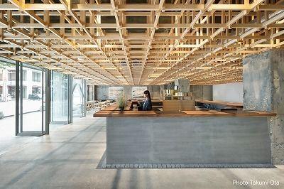 2019年度グッドデザイン賞を受賞した「KUMU 金沢 -THE SHARE HOTELS-」