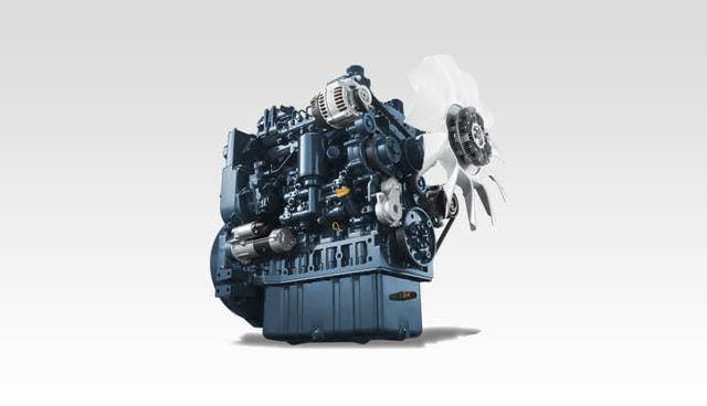 世界各地の建産機メーカーに搭載されるクボタエンジン