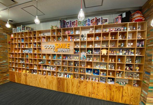 手掛けた商品は会社内に展示されております。