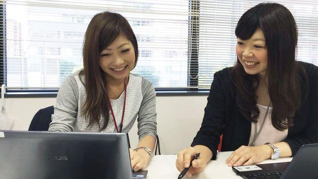 若い社員がお互いに切磋琢磨しながら成長していく環境です。