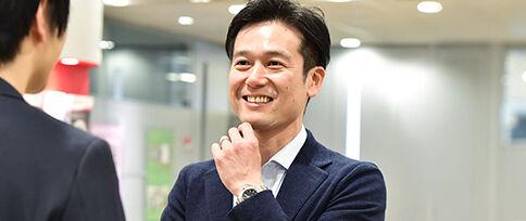 公共ビジネス本部 本部長 飯田