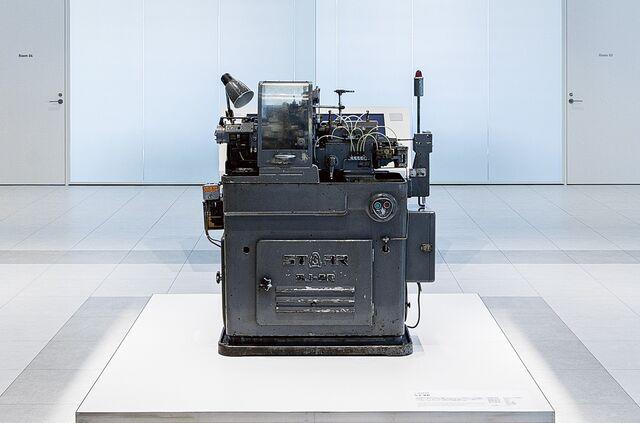 初期のヒット製品 カム式旋盤 SJ-8R