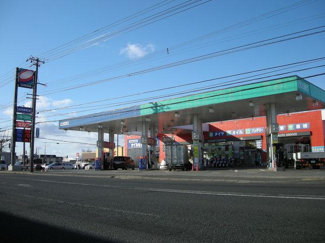 ビアストリート信濃SSはスプリット型(セルフ・フル給油)のガソリンスタンドです♪