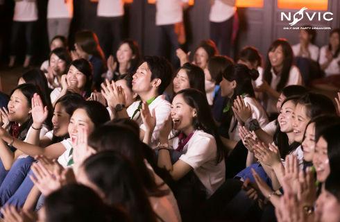学生から主婦まで幅広い世代が活躍中!/東海2017感謝祭より