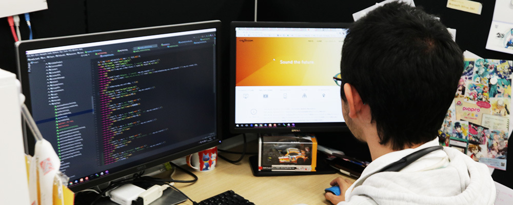 WEBエンジニア | クリプトン・フューチャー・メディア株式会社