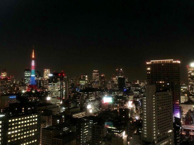 オフィスからは東京タワーのふもとまで一望できます!