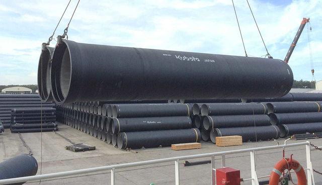 世界70か国以上に納入、クボタダクタイル鉄管